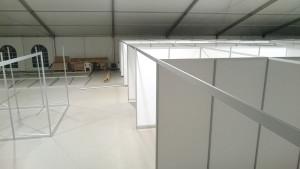Einrichtung Flüchtlingsunterkunft